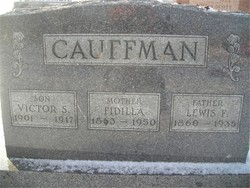 Fidilla Jane <i>Seider</i> Cauffman