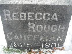 Rebecca Becky <i>Rough</i> Cauffman