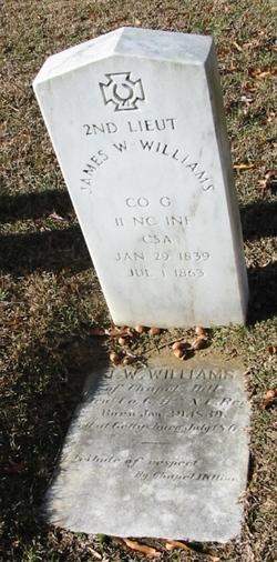 Lieut James Wesley Williams