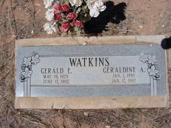 Geraldine Anne <i>Robb</i> Watkins