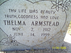 Thelma <i>Brown</i> Armstead