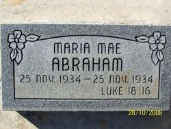 Maria Mae Abraham