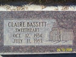 Claire <i>Roderick</i> Bassett