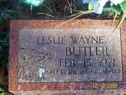 Leslie Wayne Butler