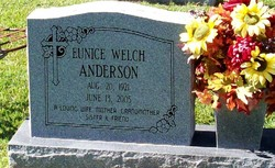 Eunice <i>Welch</i> Anderson