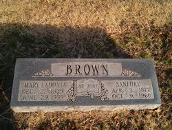 Mary Ladonia <i>Ragsdale</i> Brown