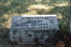 John Leslie Byrum