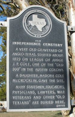 Old Independence Cemetery
