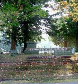 Lehman Center Cemetery