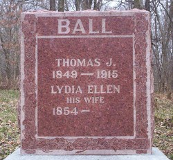 Lydia Ellen <i>McFatridge</i> Ball