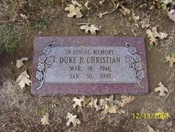 Duke B Christian