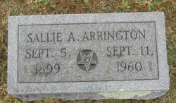 Sallie <i>Anderson</i> Arrington