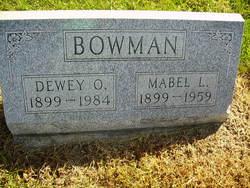 Dewey O Bowman