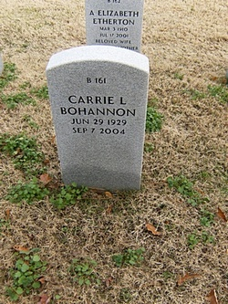 Carrie Lee Bohannon