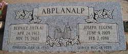 Joseph Eugene Abplanalp