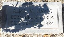 Alma <i>Veal</i> Hayes