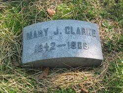 Mary Jane <i>Kinney</i> Clarke