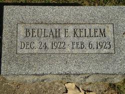 Beulah E. Kellem