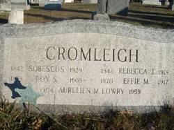Roy S Cromleigh