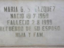 Maria G.S. Vasquez