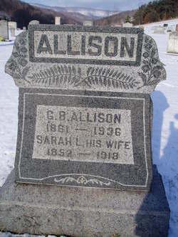 Sarah Leona <i>Harbaugh</i> Allison