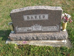 Elizabeth J <i>White</i> Baker