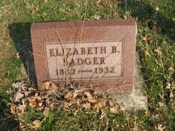 Elizabeth B <i>Stoops</i> Badger