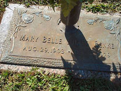 Mary Belle <i>Hutto</i> Benke