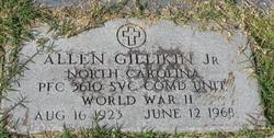 PFC Allen Gillikin, Jr