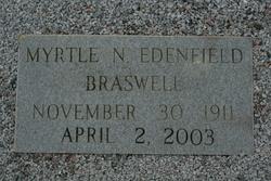 Myrtle N. <i>Edenfield</i> Braswell