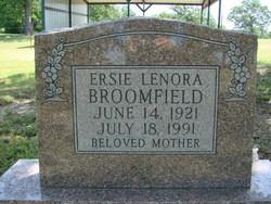 Ersie Lenora Broomfield