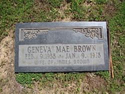 Geneve Mae Brown