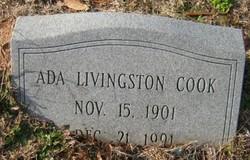 Ada <i>Livingston</i> Cook