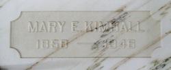 Mary Elizabeth <i>Carlisle</i> Kimball