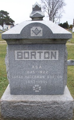 Sarah <i>Hagerman</i> Borton