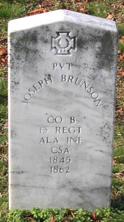 Pvt Joseph Brunson
