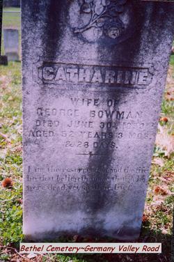 Catharine Bowman
