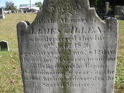 Rev James Henry Allen