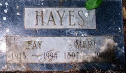 Fay Elvira <i>Byrum</i> Hayes