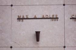 Max A Adler