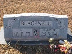 A J Blackwell