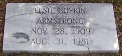 Elsie <i>Boykin</i> Armstrong