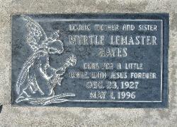 Myrtle Cornelia Lemaster