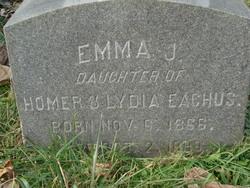 Emma J Eachus