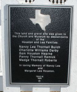Houston-Lea Family Cemetery