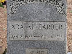 Ada E. <i>Magee</i> Barber