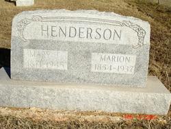 Mary Jane <i>Martin</i> Henderson