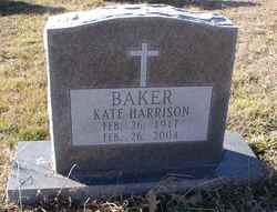Kate <i>Harrison</i> Baker