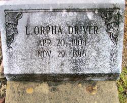 L Orpha Driver