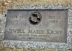 Jewell Marie <i>Thompson</i> Kropp